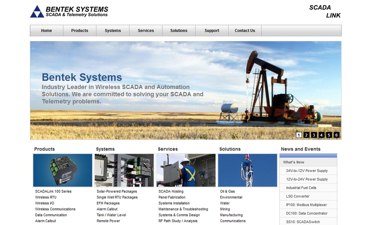 Web Design and SEO for Oil & Gas Company